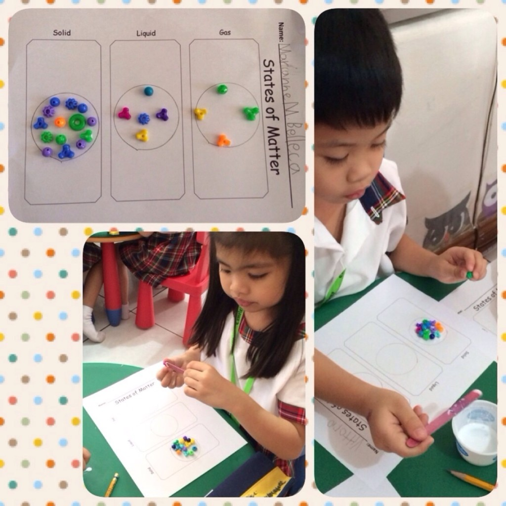 Learning states of matter