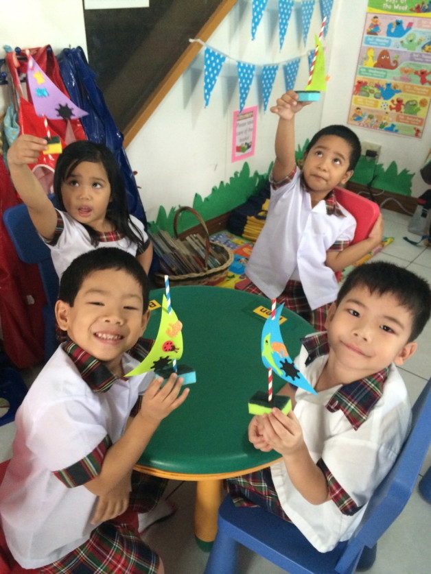 Kinder 1 on a Roll! Class Snippets from June-July 2014