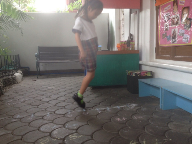 """Kinder 2: """"Jumping"""" Into the Number Line"""
