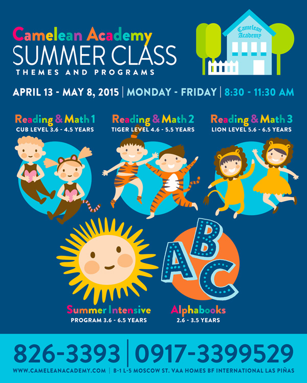 Summer Class at Camelean SY 15-16